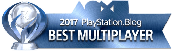 PlayStation Blog Game of the Year 2017 - Best Multiplayer (Platinum)