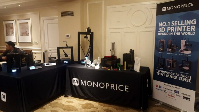 Monoprice CES stand