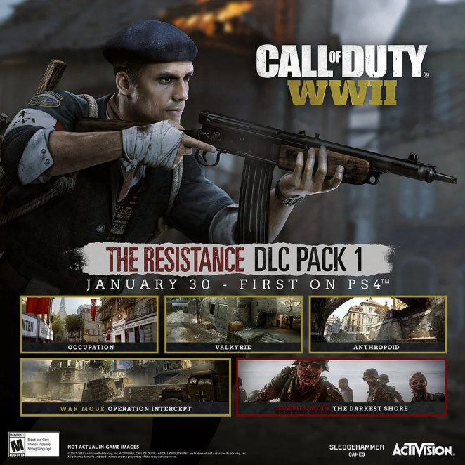Call of Duty: WWII DLC Pack 1 – The Resistance