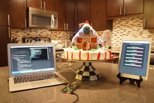 Estefannie Explains it All Raspberry Pi Home Automated Gingerbread House