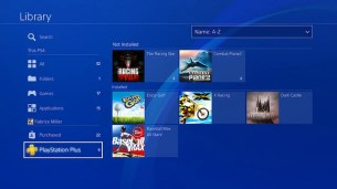PS4 System Software Update 5.50: Library