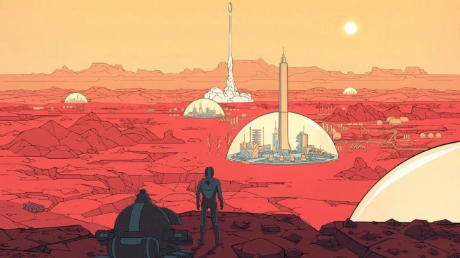 Surviving Mars Hero Image