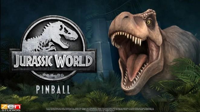 Jurassic World Pinball Hero Image