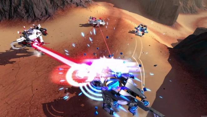 Robocraft Battle