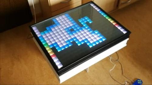 Raspberry Pi LED Table