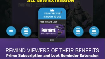 how to set up prime subscription and loot reminder
