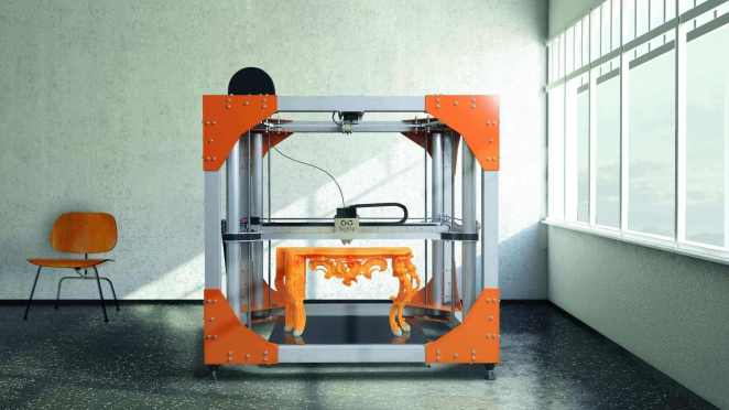 Large 3D Printer #24: The BigRep ONE v3