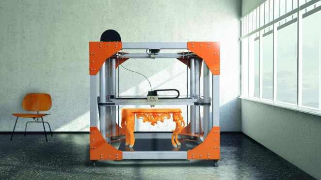 Large 3D Printer #24: The BigRep ONE v3