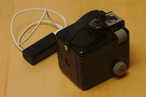 Daniel Berrangé Kodak Brownie Raspberry Pi Camera