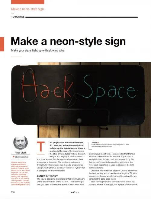 Inside HackSpace magazine issue 7