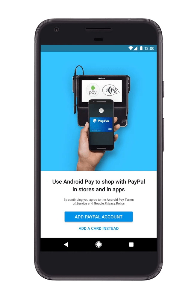 Android Pay & PayPal