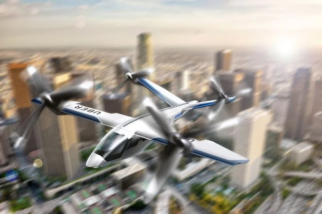 Uber has five partners working on its flying taxi project