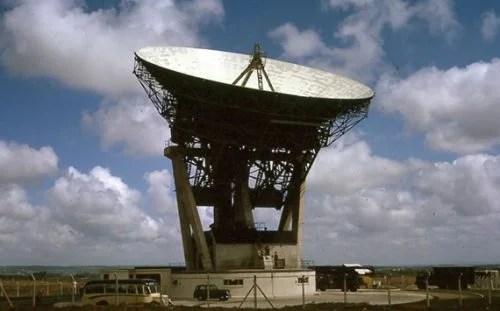 Arthur satellite dish
