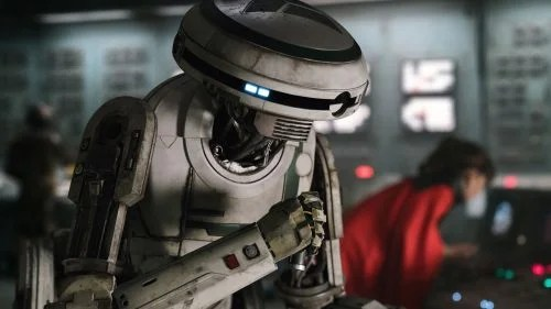 Solo Star Wars Story L3-37 droid PatchBOTs