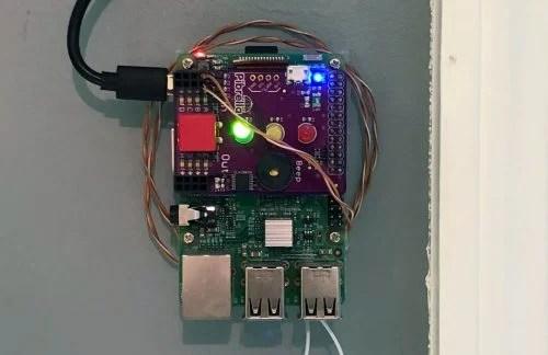 Occu Pi Raspberry Pi toilet signal