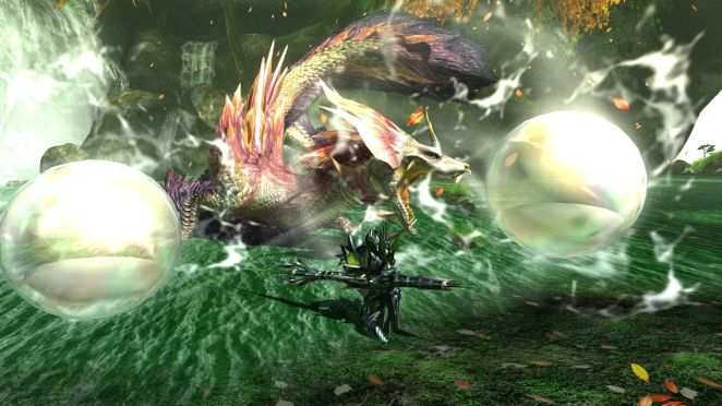 Monster Hunter Generations Ultimate Review MHGU screens Mizutsune bmp jpgcopy