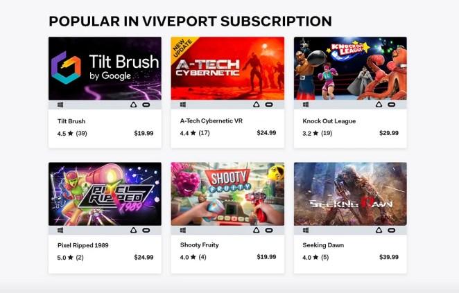 Viveport Subscription