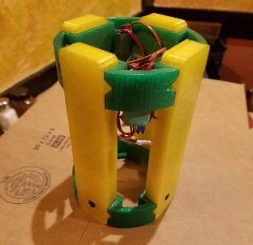 Raspberry Pi Zero rocket holder