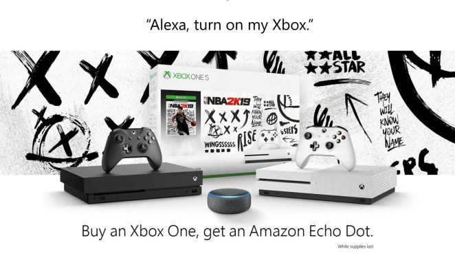 Amazon Echo Dot Xbox One Bundle