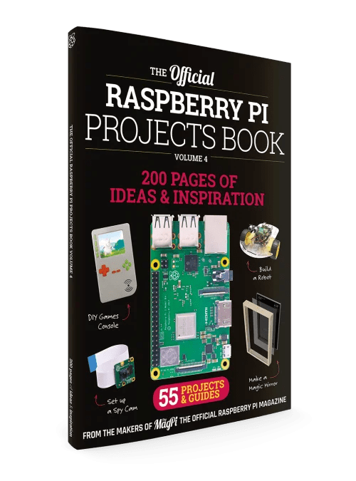 The MagPi Raspberry pi Projects book 4