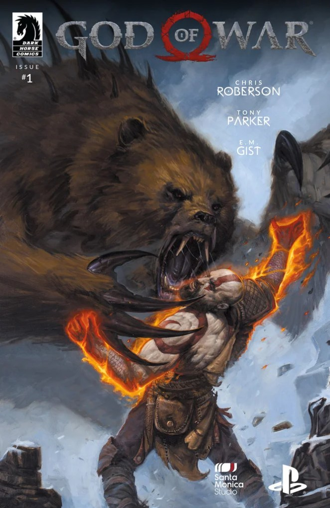 PlayStation Gear: God of War Comic #1