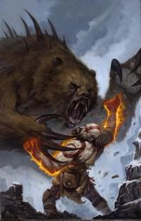 God of War prequel comic