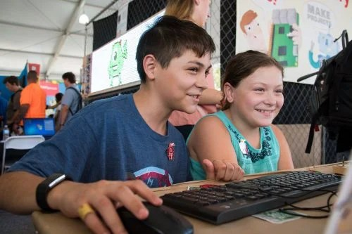 Thousands of young people all over the world learn to code and make things with computers because of your support.
