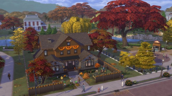 The Sims 4 Seasons Screenshot