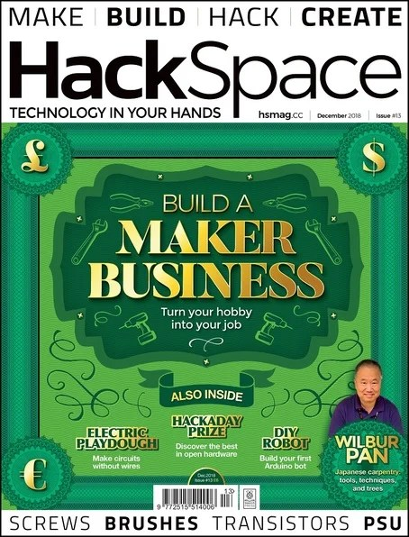 HackSpace issue 13 front cover