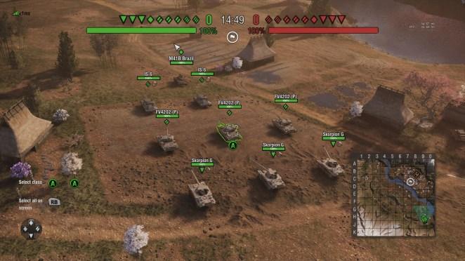 World of Tanks Mercenaries