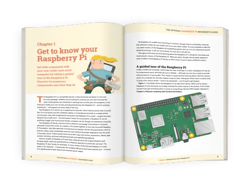 inside the Raspberry Pi Beginner's Guide