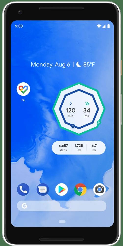 android phone widget screen