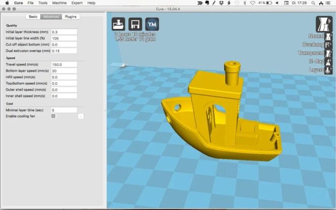 Best 3D Slicer Software #4: Cura