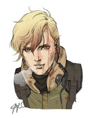 Yoji Shinkawa: Left Alive artwork