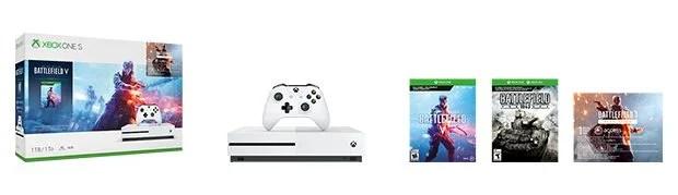Xbox One S Battlefield Bundle