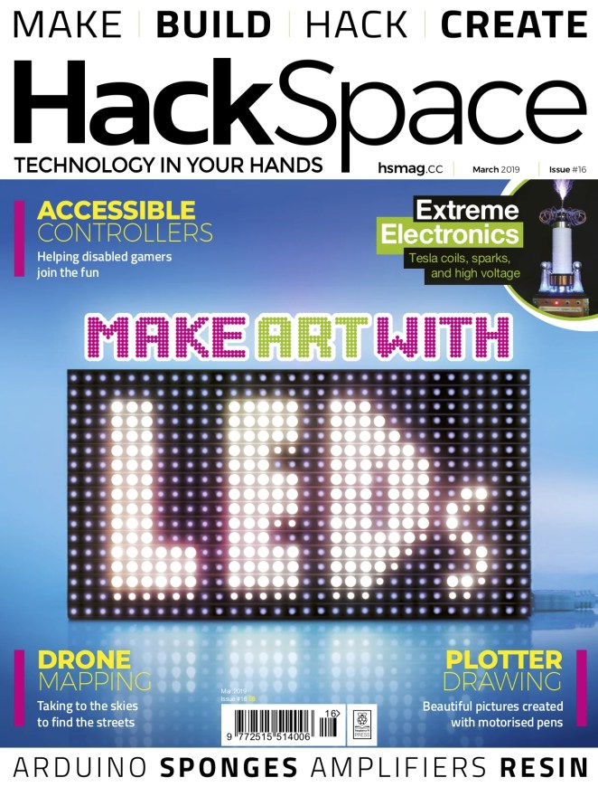 HackSpace magazine 16 Front Cover