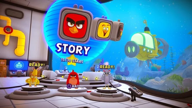 The Angry Birds Movie 2 VR: Under Pressure on PS4