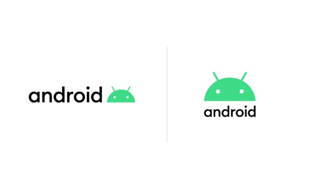 Android new logo with robot