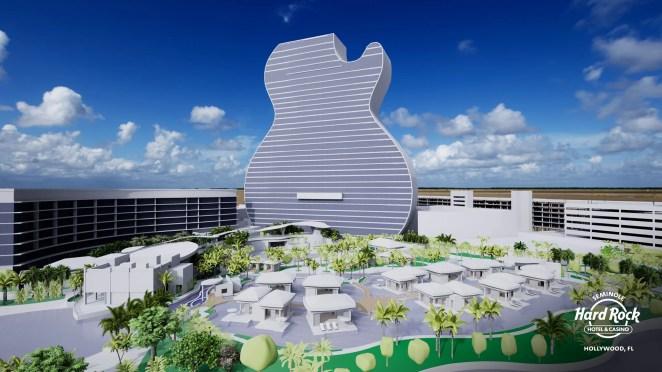 Seminole Hard Rock Guitar Hotel