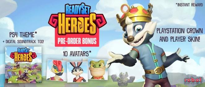 ReadySet Heroes pre-order bonus