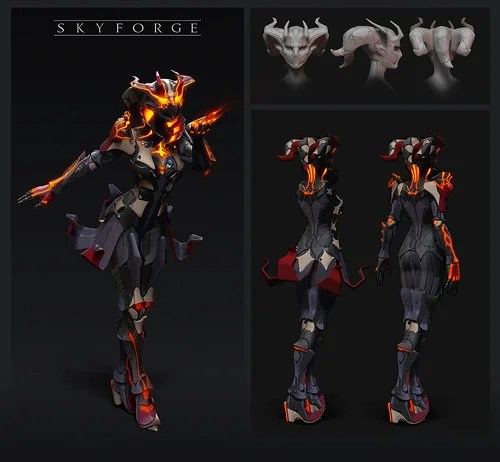 Skyforge: Firestarter