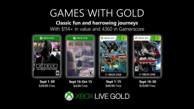 Games with Gold - September 2019