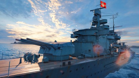 World of Warships: Legends on PS4