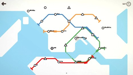 Mini Metro on PS4