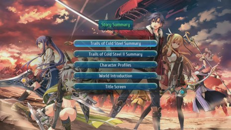 The Legend of Heroes: Trails of Cold Steel III on PS4