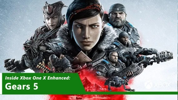 Inside Xbox One X Enhanced - Gears 5 Hero Image