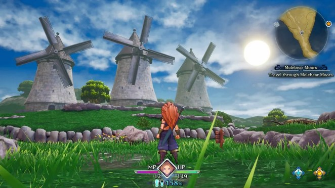 Trials of Mana on PS4