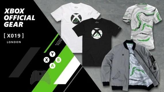 X019: Exklusiver Xbox Wireless Controller und Xbox Official Gear im Camouflage-Design