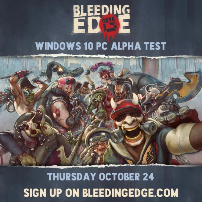 Bleeding Edge Alpha Test