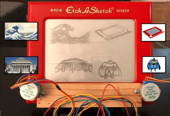 Emulate amazing images using an Etch-A-Sketch, servos and a Raspberry Pi